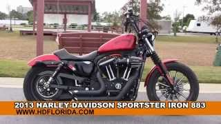 5. Used 2013 Harley Davidson Iron 883 Motorcycles for sale