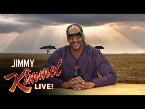 Snoop Dogg breaks it down for nature lovers