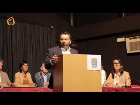 Pleno de investidura do novo alcalde Paco Ferreira