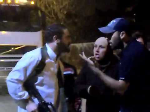 Settler Attack in Sheikh Jarrah with M-16