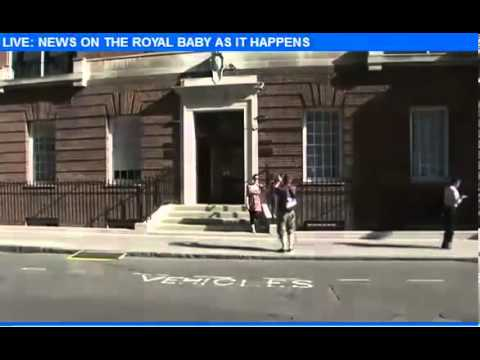 Kate Middleton BABY on the Way at St Mary's Hospital