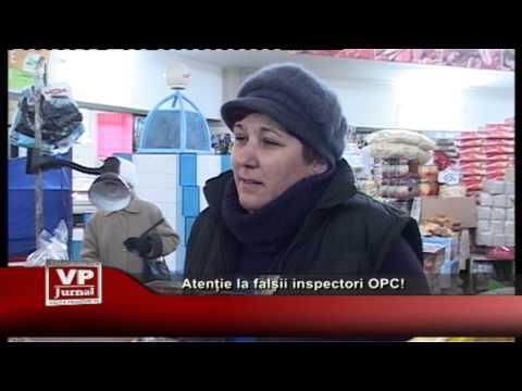 Atenție la falșii inspectori OPC!