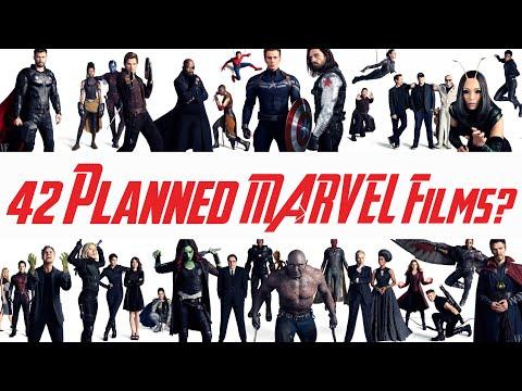 MCU // Marvel Has 42 Planned Films?!