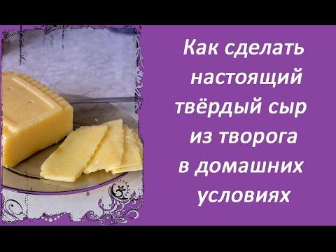 Как сварить сыр из творога в домашних условиях рецепт