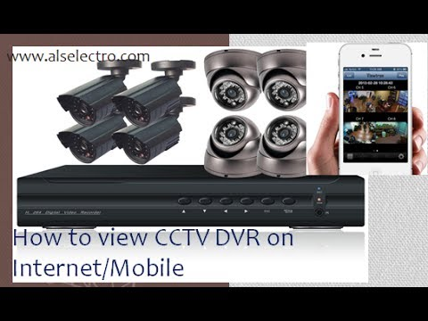 How to view CCTV DVR over Internet/Mobile (видео)