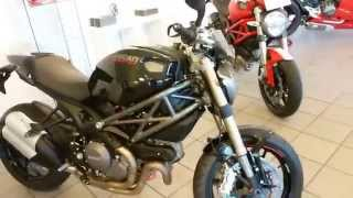 8. Ducati Monster 1100  EVO 100 Hp 220 Km/h 136 mph 2012  * see also Playlist