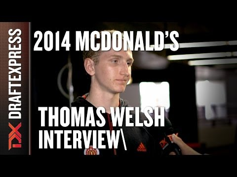 Thomas Welsh - 2014 McDonald's All American Game - Interview