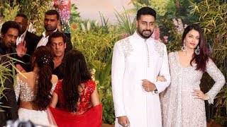 Video Salman Khan Ignores Aishwarya Rai Bachchan At Sonam Kapoor Wedding Reception MP3, 3GP, MP4, WEBM, AVI, FLV Juni 2018