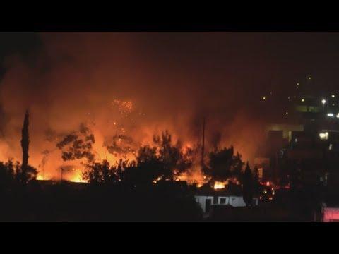 Σάμος: Ήρεμη η κατάσταση μετά την πυρκαγιά στο  ΚΥΤ