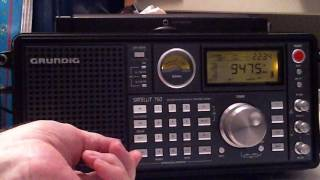 Started this at about 7 PM EDT using my Grundig 750 and my G5RV antenna. If you found this video useful, please share using...