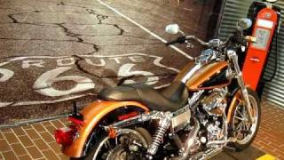 10. 2008 Harley-Davidson 105th Anniversary Dyna Low Rider FXDL Copper Pearl and Vivid Black