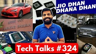 Tech Talks #324 - Jio New Plans, Oppo F5, Intel Nervana, Apple Saved Life, Toyota Fuel Cell