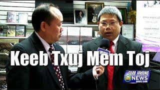 """Suab Hmong News:  The Book """"Keeb Txuj Mem Toj"""""""
