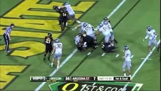 Kyle Long vs Arizona State (2012)