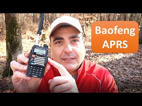 Baofeng UV-5R decoding ham radio APRS packets using I-Pad