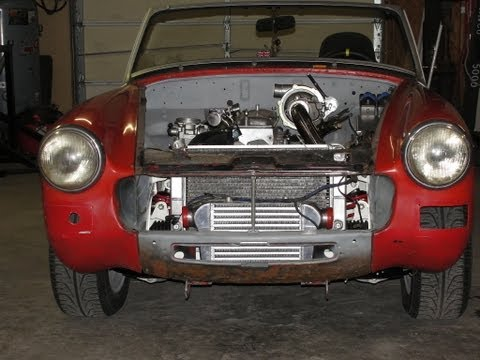 MG - The third follow up vid of the awesome MG Midget build up. Finally it is a