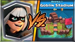 Video BANDIT TROLLING ARENA 1 IN CLASH ROYALE   FUNNY MOMENTS & BANDIT GAMEPLAY! MP3, 3GP, MP4, WEBM, AVI, FLV Mei 2017