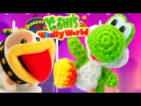 Poochy & Yoshi's Woolly World - All 30 Short Movies