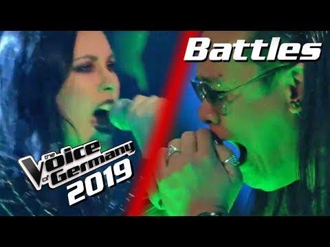 Linkin Park - Crawling (Mark Agpas vs. Stefanie Stuber)   PREVIEW   Voice of Germany 2019   Battles