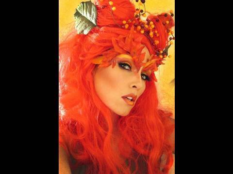 Adult POISON IVY Sexy Supervillainess Halloween Costume From Batman