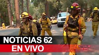 Incendio El Dorado se expande y ordena nuevas órdenes de evacuaciones – Noticias 62    - Thumbnail