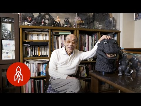 Actor Haruo Nakajima Talks About His Career Playing the Iconic Movie Monster