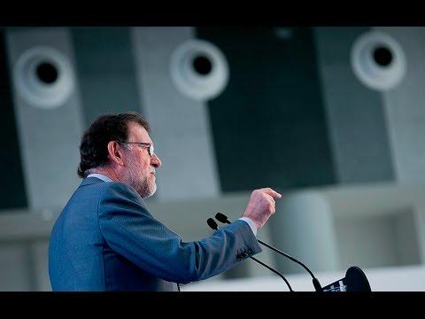 """Rajoy: """"El Partido Popular es el contrapeso frente al extremismo de algunos"""""""