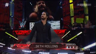 Nonton Seth Rollins Returns To Raw  23rd May 2016  Entrance  Film Subtitle Indonesia Streaming Movie Download