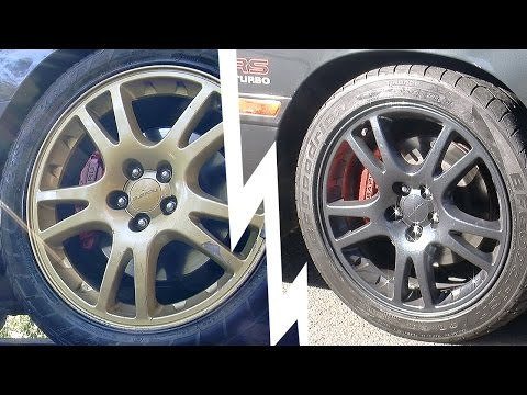 Wheel - Freshen up the look of your car with DIY wheel painting from Mighty Car Mods. In this episode Marty comes home with new wheels but MOOG is unimpressed. What ...