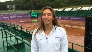 Luisa Stefani recebe convite para o Brasil Tennis Cup