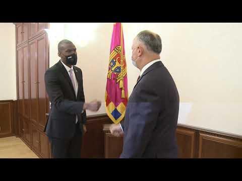 Președintele Republicii Moldova a avut o întrevedere cu Ambasadorul Statelor Unite ale Americii