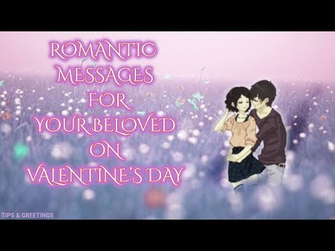 Romantic quotes - Romantic Valentine Day Messages For Love    Beautiful Quotes For Love