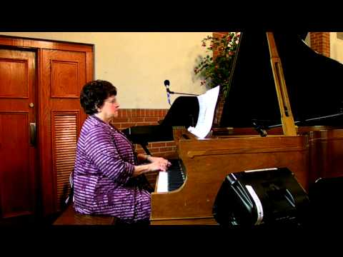 """Vicky Muto Piano Solo and Testimony 3-10-13 """"My Tribute"""""""