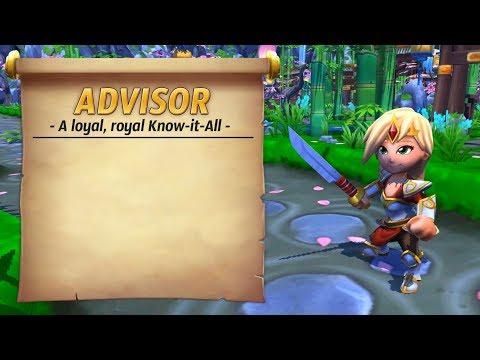 Royal Guardians - The one and only Advisor (Loyal, royal Know-it-All)