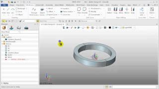 Part Design ZW3D Tutorial Wireframe & Surface