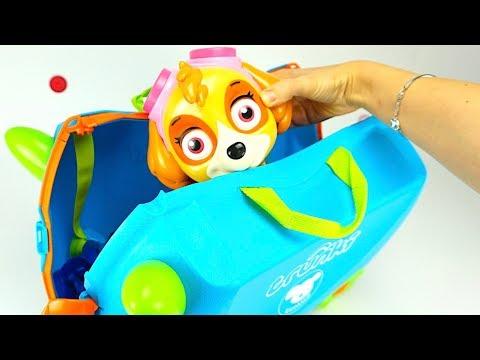 Чемодан с сюрпризами и игрушками для детей  Игрушкин ТВ - DomaVideo.Ru