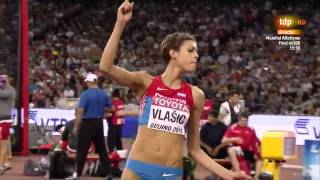 Blanka Vlašic(CRO) 2.01m SB Silver medal High Jump World Championships 2015