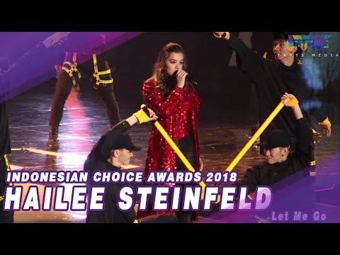 Video HAILEE STEINFELD (LET ME GO) - INDONESIAN CHOICE AWARDS 2018 NET.Tv download in MP3, 3GP, MP4, WEBM, AVI, FLV January 2017