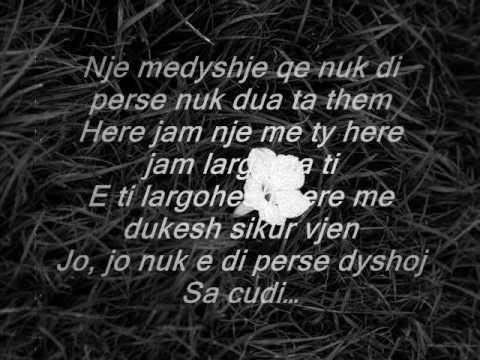Yllka Kuqi & Ardit Gjebrea - Dhe te dua ty.... (видео)
