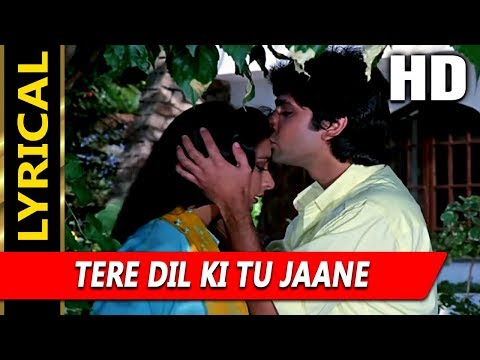 Tere Dil Ki Tu Jaane With Lyrics|Kavita Krishnamurthy| Naam 1986 Songs| Poonam Dhillon, Kumar Gaurav