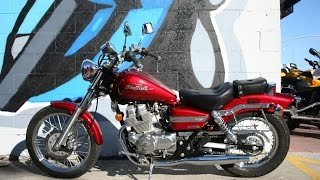 8. 2007 Honda Rebel 250 Motorcycle For Sale