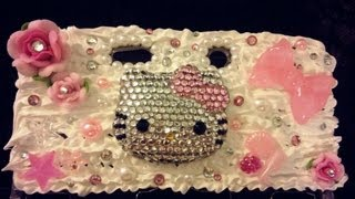 ♡ DIY:Decoden 3DS Case ♡ - YouTube