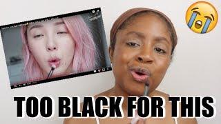 Video BLACK GIRL TRIES FOLLOWING A KOREAN MAKEUP TUTORIAL MP3, 3GP, MP4, WEBM, AVI, FLV Mei 2019