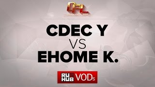 CDEC.Y vs EHOME.K, game 1