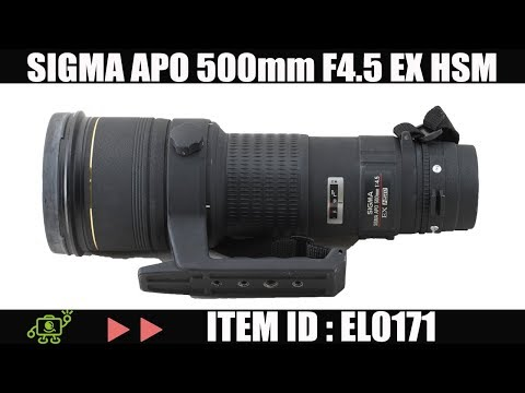 Sigma APO 500mm F4.5 EX HSM For Canon DSLR