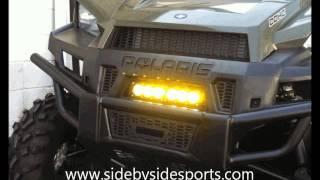 9. Polaris Ranger XP900 / 570 Full Size Grille LED Light Bar