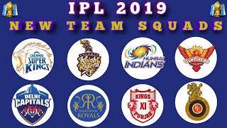IPL 2019  All Teams Squads | Playing XI | CSK, SRH, KKR, MI, RR, DCS, KXIP, RCB