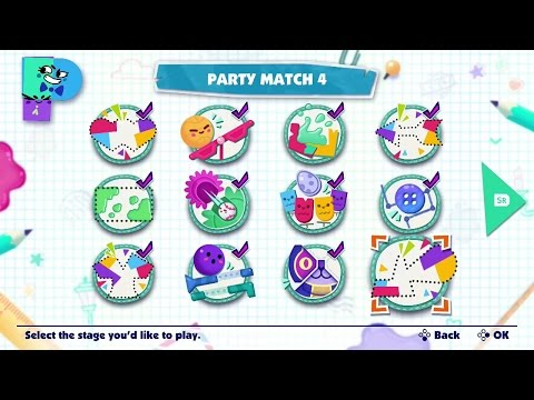 Snipperclips | Party Match 4 - Co-op