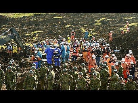 Ιαπωνία: Εντοπίστηκαν δύο ακόμη σοροί την ώρα που η γη εξακολουθεί να σείεται