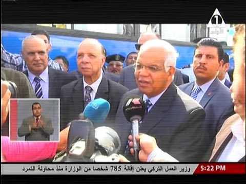 وزير النقل يشهد احتفالية محافظة القاهرة بالقلعة، لاستلام 90 أتوبيس